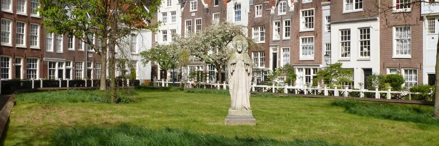 balade à pied Amsterdam bequinage