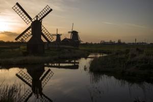 Moulins en hollande