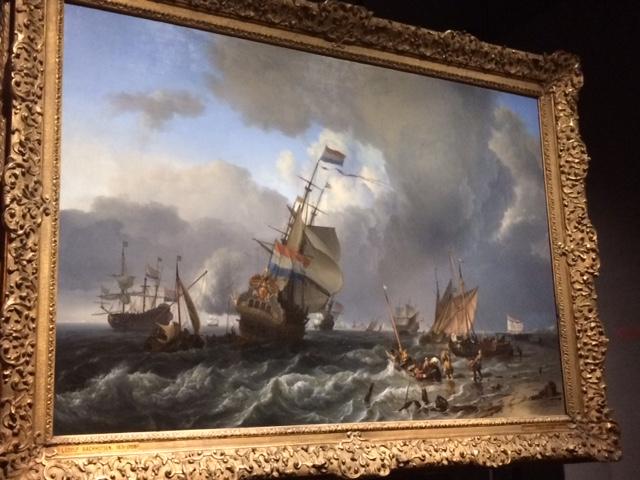 tableau bataille de mer