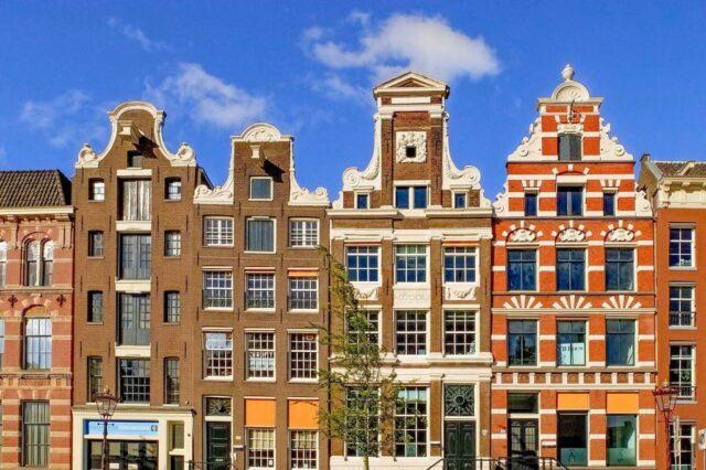 les maisons d'Amsterdam