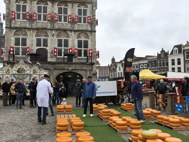 marché fromage Gouda