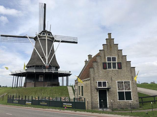 les moulins a Pays-Bas