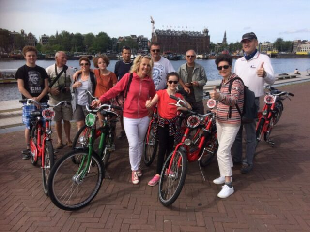 visite Amsterdam en vélo